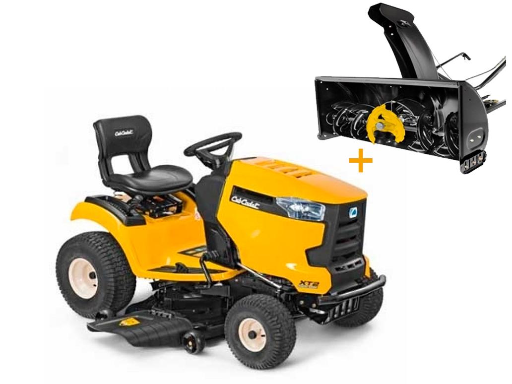Комплект: Садовый трактор Cub Cadet XT2 PS 107 + Снегоуборщик роторный NX15 SD