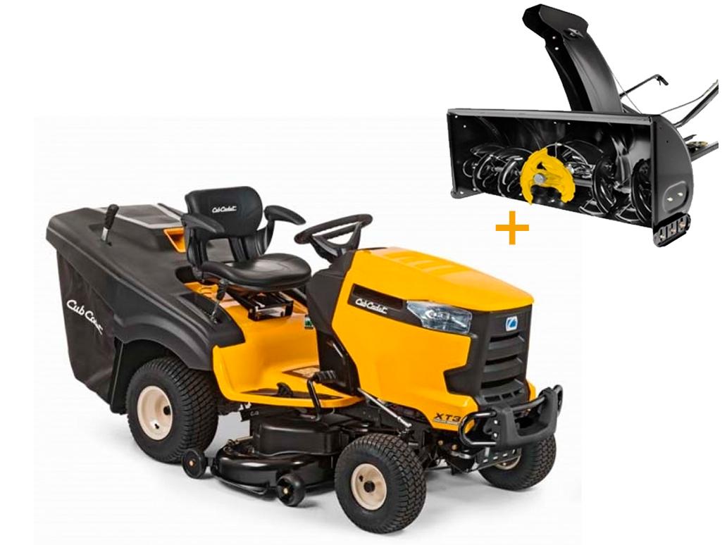 Комплект: Садовый трактор Cub Cadet XT3 QR95 + Снегоуборщик роторный NX15 RD