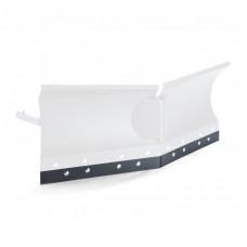 Резиновая накладка для гидравлического снегоотвала Х-формы
