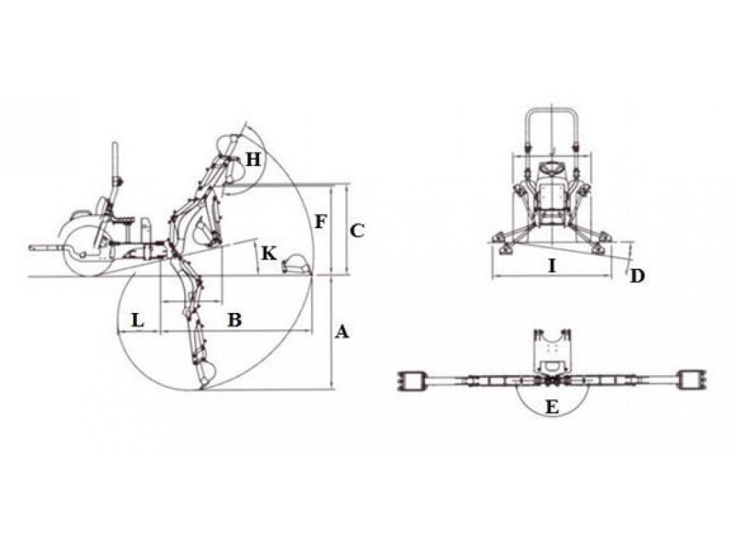 Экскаватор BH76E