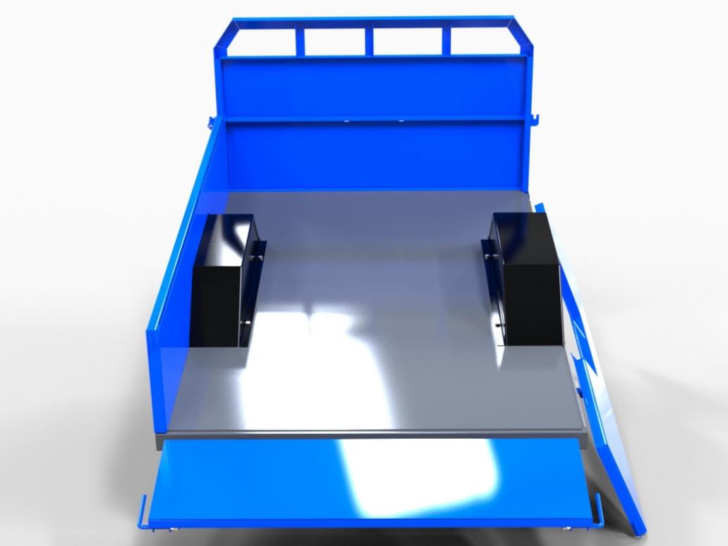 Прицеп (полуприцеп) тракторный самосвальный СКАУТ 1ПТС-1,5T