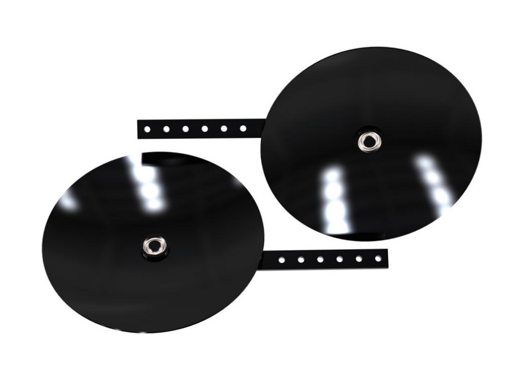 Окучник дисковый регулируемый, 390 мм (пара)