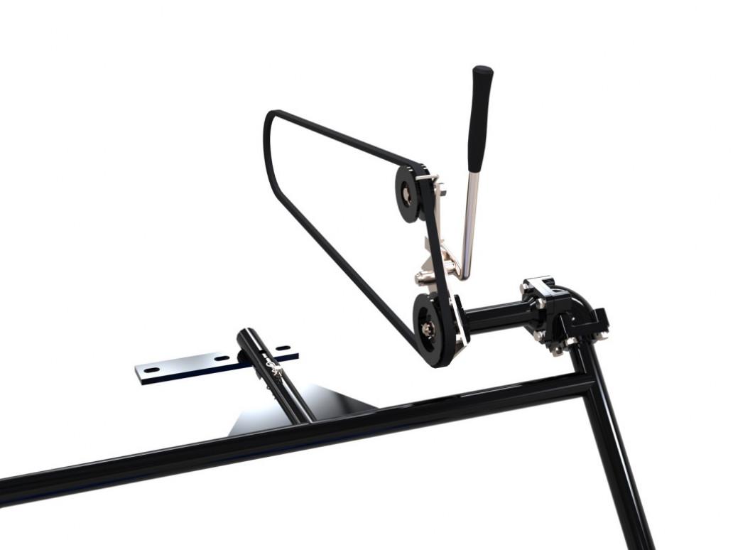 Косилка роторная фронтальная СКАУТ RM-1 к мотоблоку