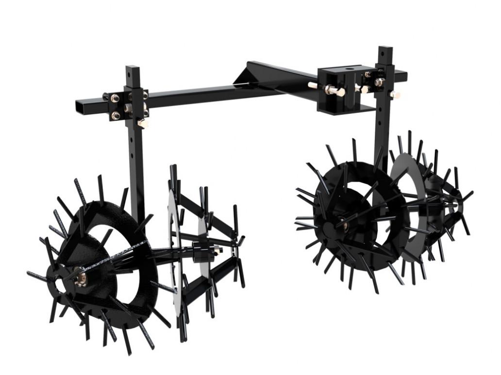 Культиватор «Ёжик», комплект для минитрактора СКАУТ